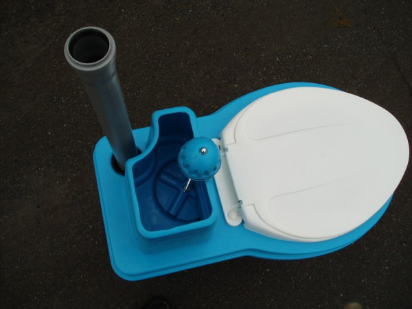 Туалетна кабінка для торф'яного біотуалету пуста. ТКД - Фото №3