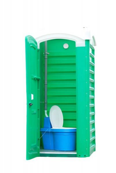Туалетна кабінка для торф'яного біотуалету пуста. ТКД - Фото №5