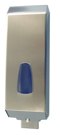 Дозатор рідкого мила Inox 1.2 л, сатиновий, нерж. сталь. A54200SAP - Фото №1