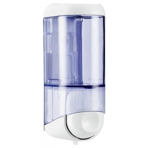Дозатор рідкого мила 0.17 л, білий/прозорий, пластик. A58301 - Фото №1