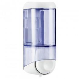 Дозатор жидкого мыла 0.17 л, белый / прозрачный, пластик. A58301 - Фото