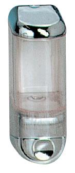 Дозатор рідкого мила 0.17 л, білий/прозорий, пластик. A58301 - Фото №3