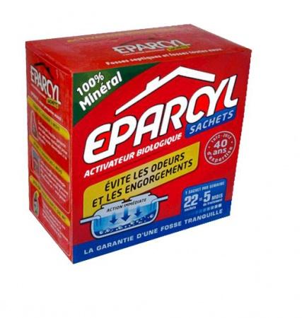 Біопорошок для вигрібних ям Епарсіл, 24 пак., 800 гр. - Фото №1