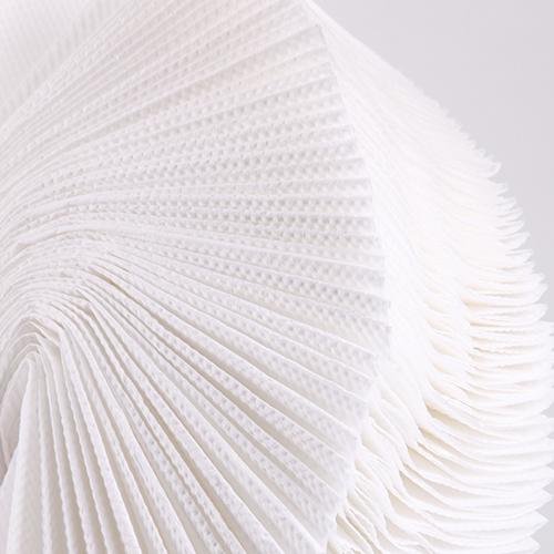 Бумажные полотенца листовые, V-укладка, целлюлозные. P123. - Фото №3