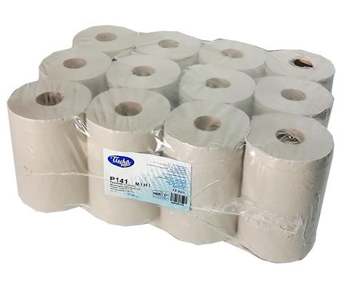 Бумажные полотенца, ролевые (рулонные). MINI. P141000. - Фото №1