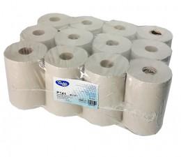 Бумажные полотенца, ролевые (рулонные), MINI, серые. P141000.