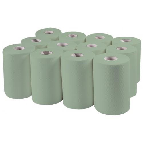Бумажные полотенца, ролевые (рулонные). MINI. P142. - Фото №1
