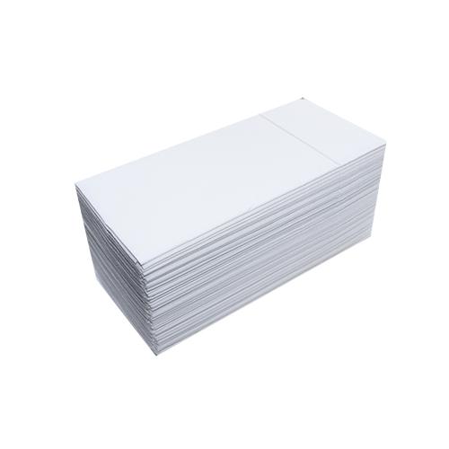 Серветки столові Pocket 1/8 двошарові 40х40 (45 шт.) білі.  T2408T - Фото №1